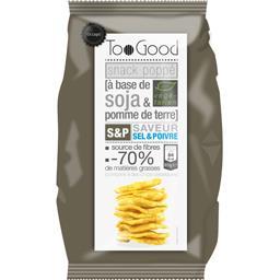 TooGood Snack Poppé soja & pomme de terre saveur sel & poivr...