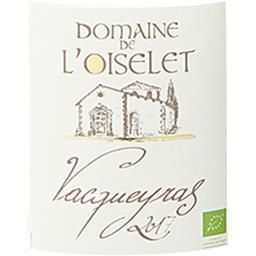 Vacqueyras Domaine de l'Oiselet vin Rouge 2017