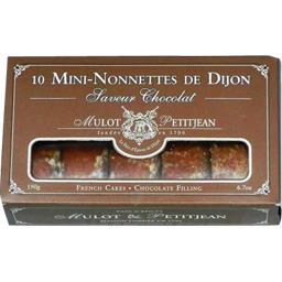 Mini-nonnettes de Dijon saveur chocolat