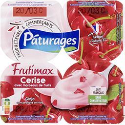 Frutimax - Yaourt brassé cerise avec morceaux