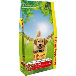 Friskies - Croquettes Vitafit Active au bœuf pour chien