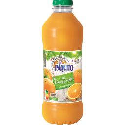 Jus Orange pulpée à base de concentré avec pulpe