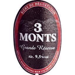 Bière Grande Réserve