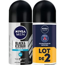 Déodorant 48h Invisible Black & White Fresh