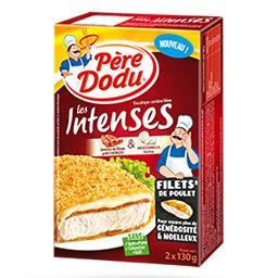 Les Intenses - Escalope cordon bleu dinde chorizo mozzarella