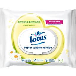 Papier toilette humide camomille