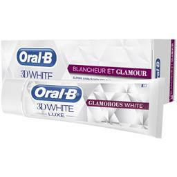 Dentifrice 3D White Luxe blancheur et glamour