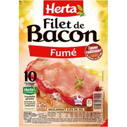 Herta Filet de bacon fumé
