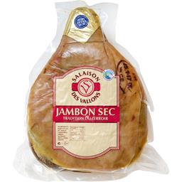 Jambon sec sans os salé au sel de l'Ile de Ré