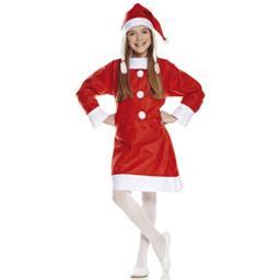 Costume enfant Père-Noël taille 7-9 ans