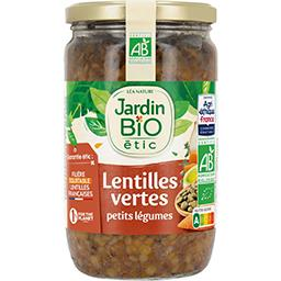Lentilles cuisinées aux petits légumes