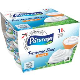Fromage blanc sucré 3% MG
