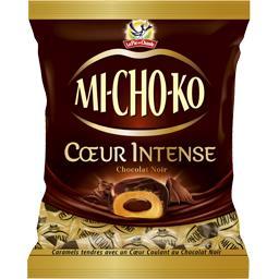 Bonbons Michoko Cœur Intense chocolat noir