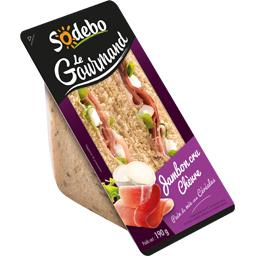 Le Gourmand - Sandwich jambon cru chèvre
