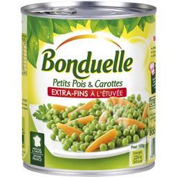 Petits pois & carottes extra-fins à l'étuvée
