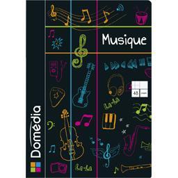 Cahier de musique, 21 x 29,7 cm