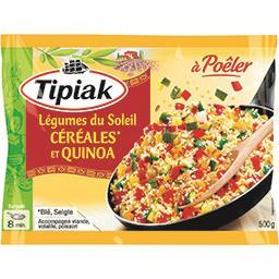 Tipiak Légumes du soleil céréales et quinoa à poêler le sachet de 500 g