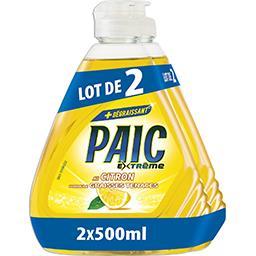 Nestlé Paic Extrême - Liquide vaisselle au citron