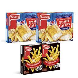 Opération Fish & Chips : 2 poissons achetés = les frites offertes