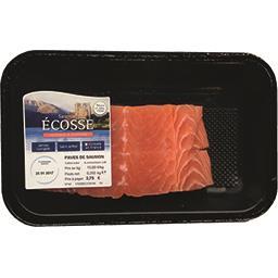 Pavés de saumon Ecosse la barquette de 250 g