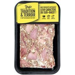 Véritable gratton Bordelais au jambon