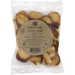Le Marmiton Croûtons nature le paquet de 100 g