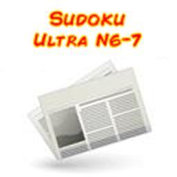 Sudoku ultra niveau 6/7