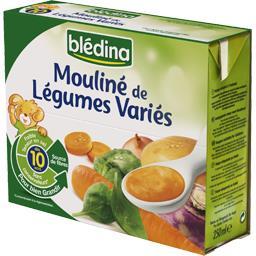 Mouliné de légumes variés, dès 10 mois