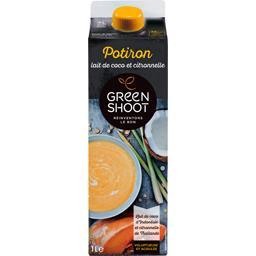 Green Shoot Soupe potiron lait de coco & citronnelle