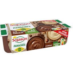 Dessert végétal noisettes amandes/chocolat