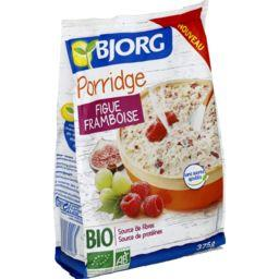 Porridge figue framboise BIO