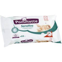 Sensitive, lingettes bébé aloe vera et milky lotion