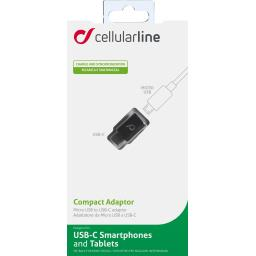 Adaptateur micro USB A USB C