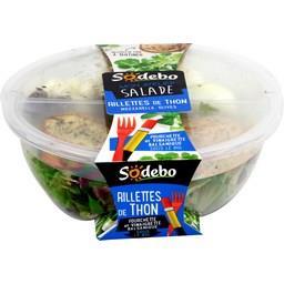 Mon Atelier Salade - Salade rillettes de thon mozzar...
