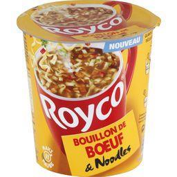 Bouillon de bœuf & Noodles