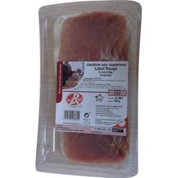 Jambon sec supérieur Label Rouge