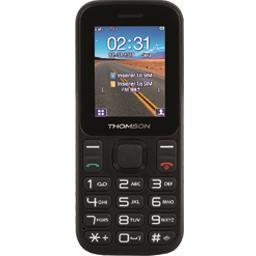 Téléphone GSM 1,8'' noir TLINK12BLK