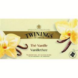 Thé vanille avec gousses de vanille