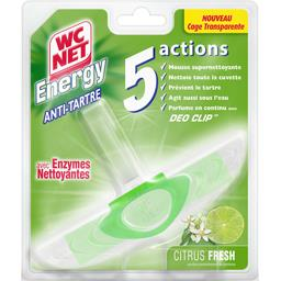 Energy - Bloc WC anti-tartre 5 actions citrus Fresh