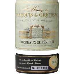 Bordeaux Supérieur Réserve, vin rouge