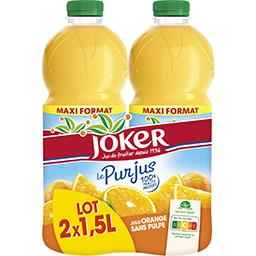 Le Pur Jus - Jus d'orange sans pulpe
