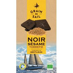 Chocolat noir sésame torréfié BIO