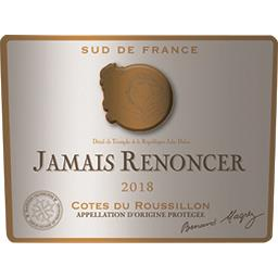 Côtes du Roussillon Jamais Renoncer, vin rouge