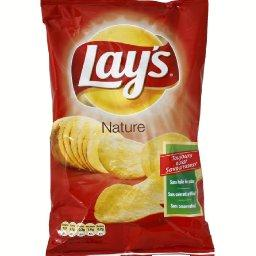 Chips nature ,LAY'S,le paquet de 135g