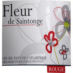 Vin de Pays de l'Atlantique Fleur de Saintonge, vin rouge