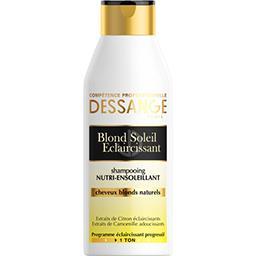 Dessange Shampooing Nutri-Ensoleillant Blond Soleil Eclaircis...