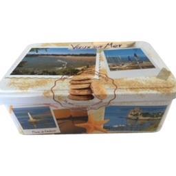 Boite biscuits Vaux sur Mer