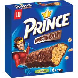 Prince - Barres 4 céréales Choc'Au Lait