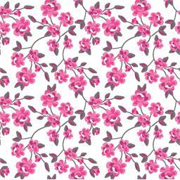 Serviettes 3 plis 25x25 cm Milleflora Fuchsia