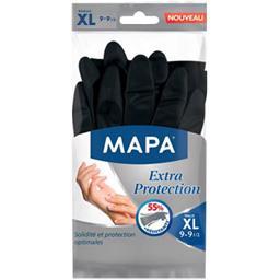 Mapa - 3 paires de Gants de Ménage Extra Protection - Taille 9/XL